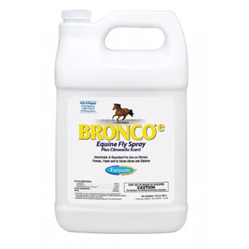 Bronco Equine Fly Spray Gallon