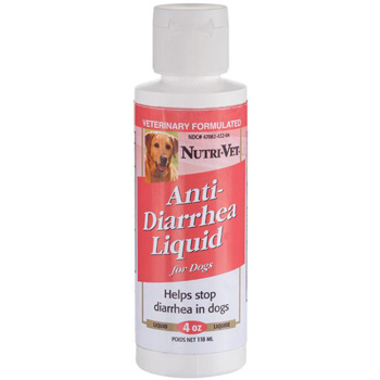 Nutri-Vet Anti Diarrhea Liquid for Dogs 4 oz