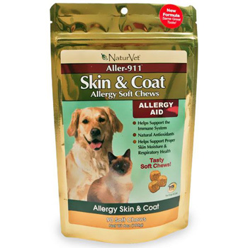 NaturVet Naturals Allergy Aid Soft Chews 90 ct