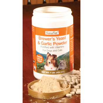 NaturVet Brewer's Yeast & Garlic Powder 1 lb