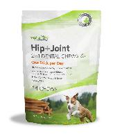 Vetality Hip and Joint 2 in 1 Dental Chews for Dogs, 14 Count