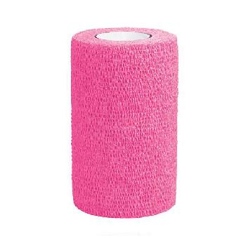 3M Vetrap Bandaging Tape, 4 Inches, Hot Pink