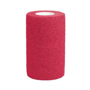 3M Vetrap Bandaging Tape, 4 Inches, Red
