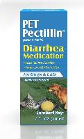 Lambert Kay Pet Pectillin Diarrhea Medication for Dogs and Cats 4 oz