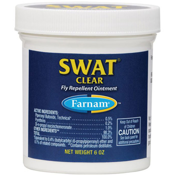 Swat Clear Fly Repellent Ointment 7 oz