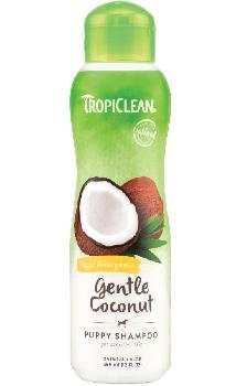TropiClean Gentle Coconut Pet Shampoo, Hypoallergenic, 20 ounces